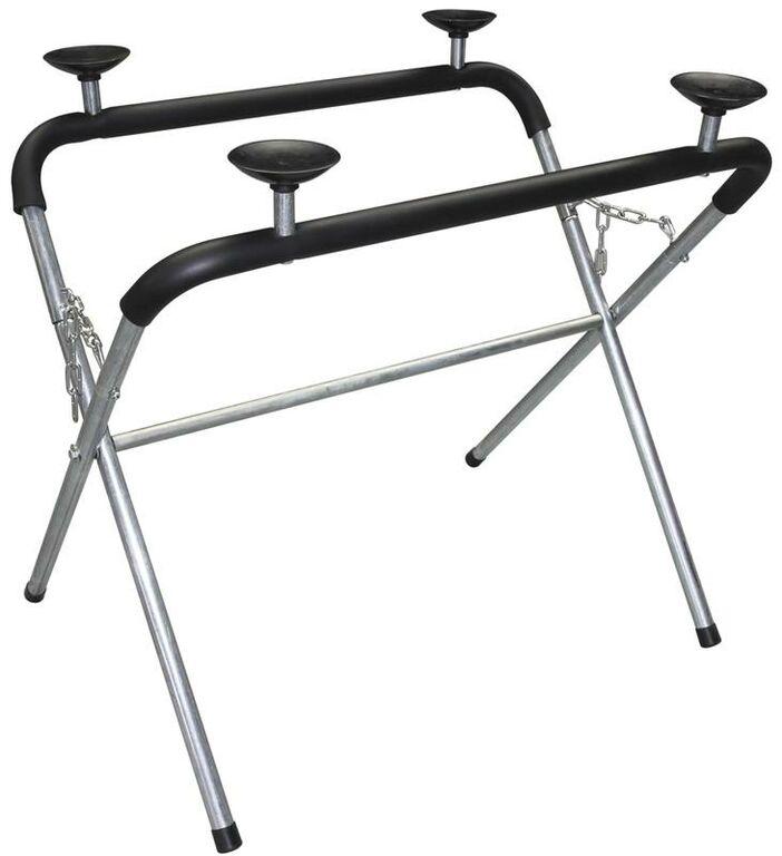 Obrázek produktu  stojan na karosářské díly a autoskla s podpěrami a pěnovou ochranou (nosnost 230 kg) 040311