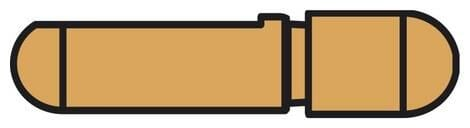 Obrázek produktu elektroda pro bodovací kleště PORTASPOT 230, krátká 40 mm 047884