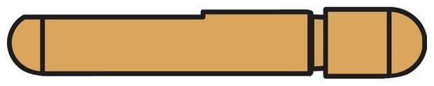 Obrázek produktu elektroda pro bodovací kleště PORTASPOT 230, střední 60 mm 047891