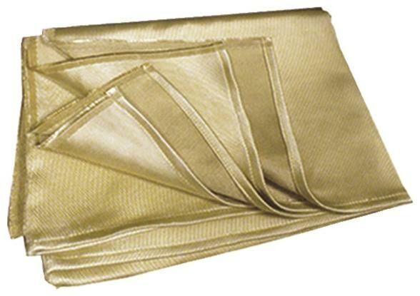 Obrázek produktu deka pro ochranu dílů při broušení a svařování 175x150 cm, (1200 g/m2), odolnost do 1200°C 050204