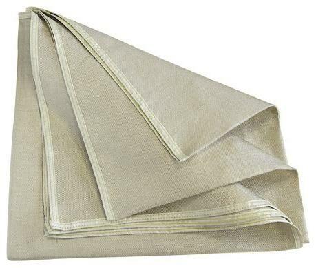 Obrázek produktu deka pro ochranu dílů při broušení a svařování 200x200 cm, (580 g/m2), odolnost do 550°C 050495