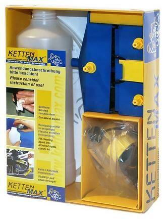 Obrázek produktu KETTENMAX CLASSIC - pračka na motocyklové řetězy (sada bez náplní) KM-C