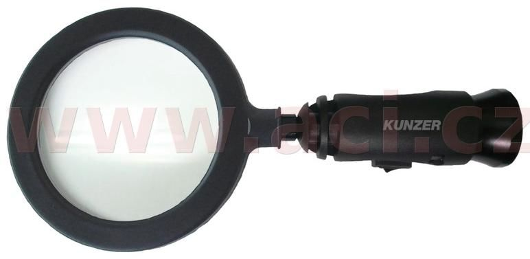 Obrázek produktu lupa (90 mm) s LED osvětlením 7LL01