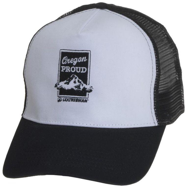 Obrázek produktu Čepice s kšiltem a výšivkou Leatherman, černá + bílá