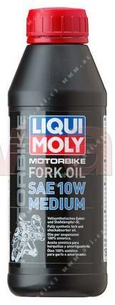 Obrázek produktu LIQUI MOLY Motorbike Fork Oil 10w Medium - olej do tlumičů pro motocykly - střední 500 ml 1506