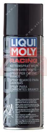 Obrázek produktu LIQUI MOLY bílý tuk na řetězy motocyklů ve spreji 400 ml 1591