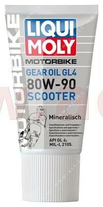 Obrázek produktu LIQUI MOLY Motorbike Gear Oil GL 4 80W-90 Scooter - minerální převodový olej 150 ml 1680