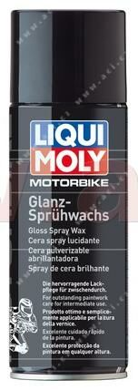 Obrázek produktu LIQUI MOLY lesklý vosk na motocykly ve spreji 400 ml 3039
