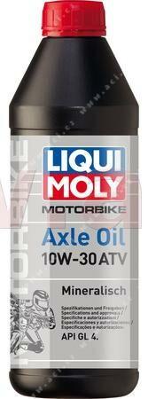 Obrázek produktu LIQUI MOLY Motorbike Axle Oil 10W-30 ATV - minerální převodový olej 1 l 3094