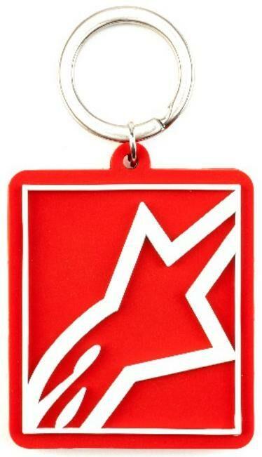 Obrázek produktu klíčenka CORP SHIFT KEY FOB, ALPINESTARS (červená) 1019-94004-30