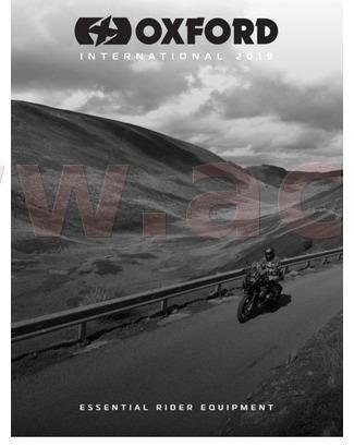 Obrázek produktu katalog moto 2019, kompletní kolekce, mezinárodní vydání, OXFORD PC108