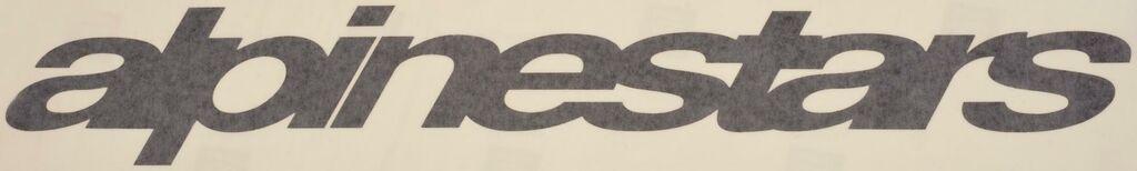 Obrázek produktu samolepka, ALPINESTARS (délka 48 cm) 665401-10