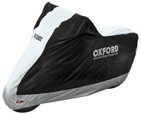 Obrázek produktu plachta na motorku Aquatex, OXFORD (černá/stříbrná)