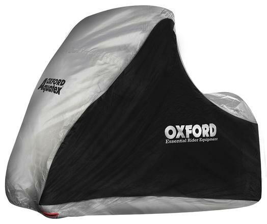 Obrázek produktu plachta na skútry s př. nápravou Aquatex, OXFORD - Anglie (černá/stříbrná, uni velikost) CV215
