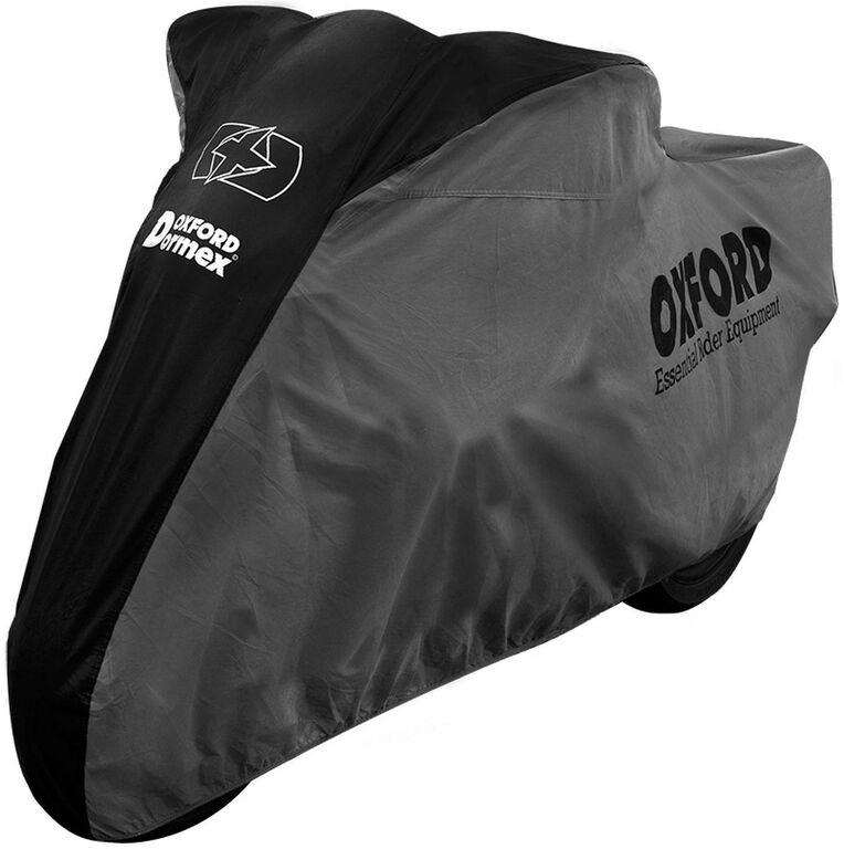 Obrázek produktu plachta na motorku Dormex interierová, OXFORD (černá/šedá)