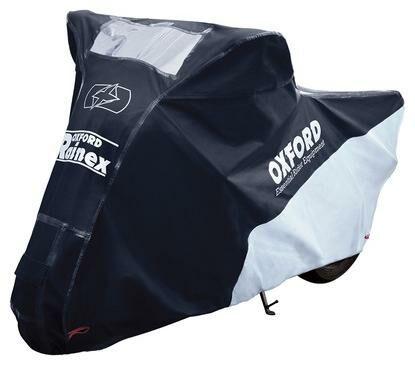 Obrázek produktu plachta na motorku Rainex, OXFORD (černá/stříbrná)