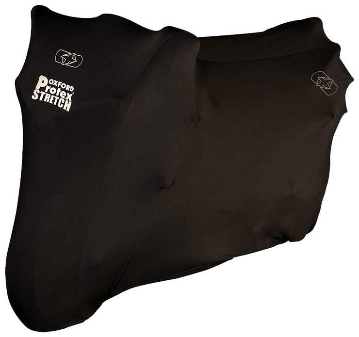 Obrázek produktu plachta na motorku Protex Stretch Indoor interierová, OXFORD (černá)