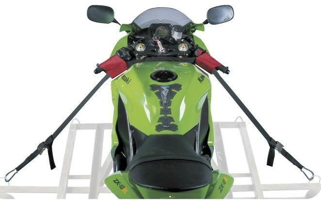 Obrázek produktu popruhy řidítkové pro zajištění motocyklu Bar Strap Kit, OXFORD OX747