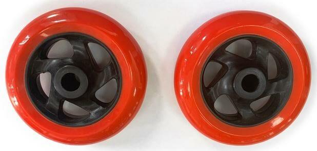 Obrázek produktu náhradní kolečko pro stojan na motocykl, Q-TECH (černo-červené) W05