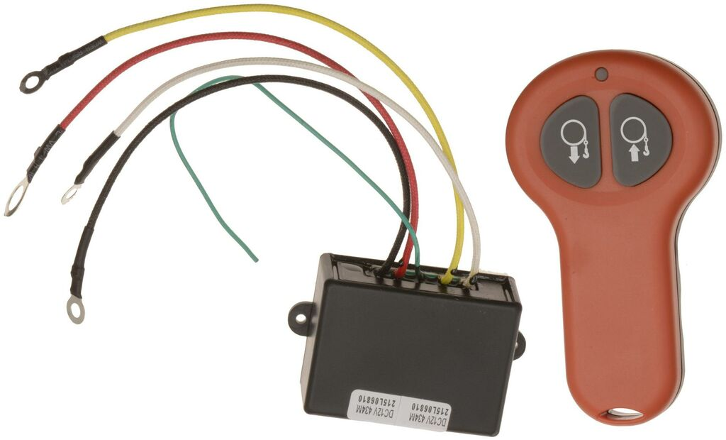 Obrázek produktu dálkové ovládání k navijákům ATV / UTV Q-TECH WIRELESS REMOTE