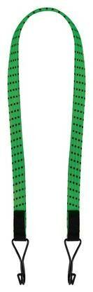 """Obrázek produktu gumicuk Twin Wire """"pavouk"""" plochý délka/šířka popruhu 600/16 mm se zakončeními pomocí drátových háků, OXFORD (zelený) OX717"""