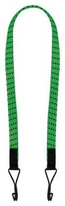 """Obrázek produktu gumicuk Twin Wire """"pavouk"""" plochý délka/šířka popruhu 800/16 mm se zakončeními pomocí drátových háků, OXFORD (zelený) OX718"""