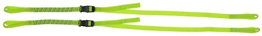 Obrázek produktu popruhy ROK straps LD Commuter nastavitelné, OXFORD (reflexní zelená, šířka 12 mm, pár) ROK330