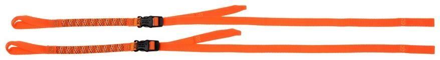 Obrázek produktu popruhy ROK straps LD Commuter nastavitelné, OXFORD (reflexní oranžová, šířka 12 mm, pár) ROK331