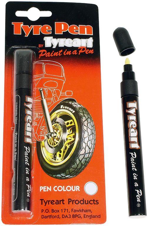 Obrázek produktu fix na pneu, TYREART - Anglie (bílý) TYPWH