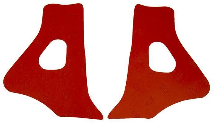 Obrázek produktu gumové protektory rámu Honda, VIBRAM (sada, červená) M7348R