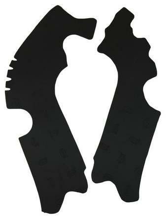Obrázek produktu gumové protektory rámu Honda, VIBRAM (sada, černá) M7332N