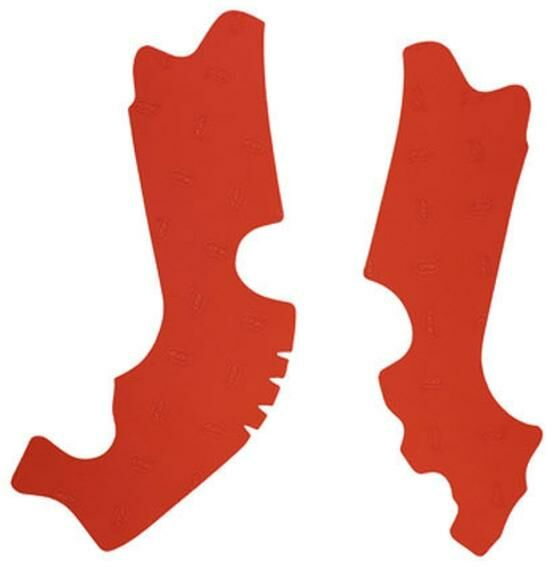 Obrázek produktu gumové protektory rámu Honda, VIBRAM (sada, červená) M7349R