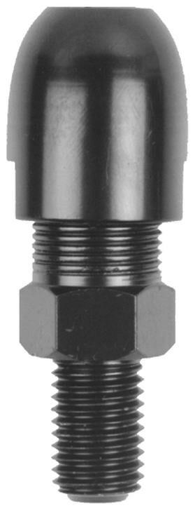 Obrázek produktu adaptér zpětného zrcátka M10/1,25 pravý závit (černý) TM13