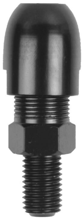 Obrázek produktu adaptér zpětného zrcátka M10/1,25 levý závit (černý) TM14