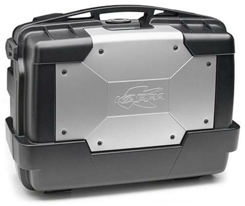 Obrázek produktu MONOKEY TopCase/Boční kufr GARDA - 33l, KAPPA (stříbrný/černý, kompozit) KGR33