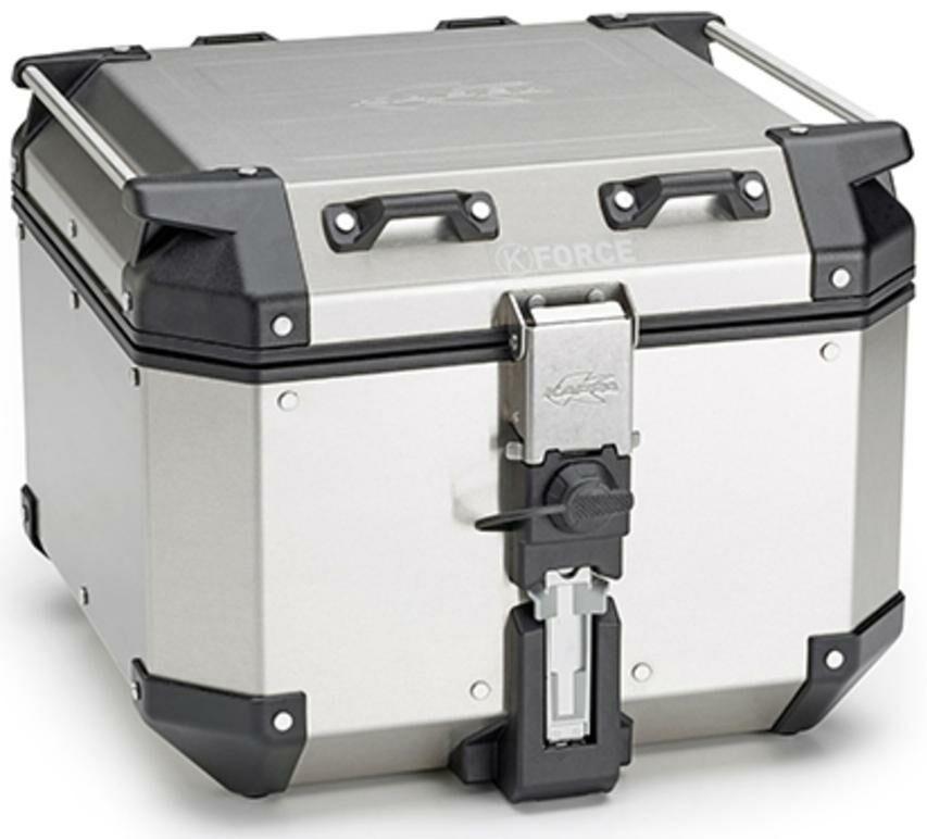 Obrázek produktu MONOKEY TopCase K-VENTURE - 42l, KAPPA (stříbrný, hliník, 40,9x32,3x45,4 cm) KVE42A