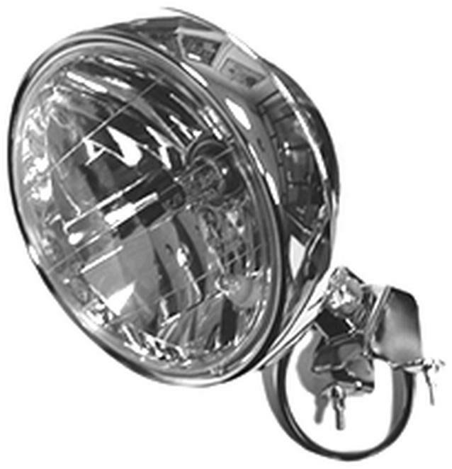 Obrázek produktu přední světlo hlavní kulaté (průměr 180 mm, H4 12V 35/35W) 8174