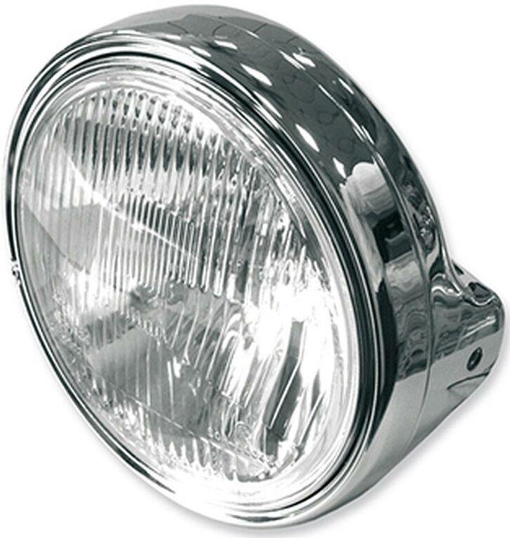 Obrázek produktu přední světlo hlavní kulaté chrom (průměr 190 mm, H4 12V 60/55W) 7275