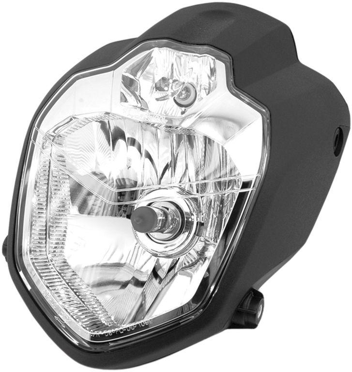Obrázek produktu přední světlo hlavní ROAD (190 x 250 mm, H4 12V 60/55 W + 12 V W3W) 9821