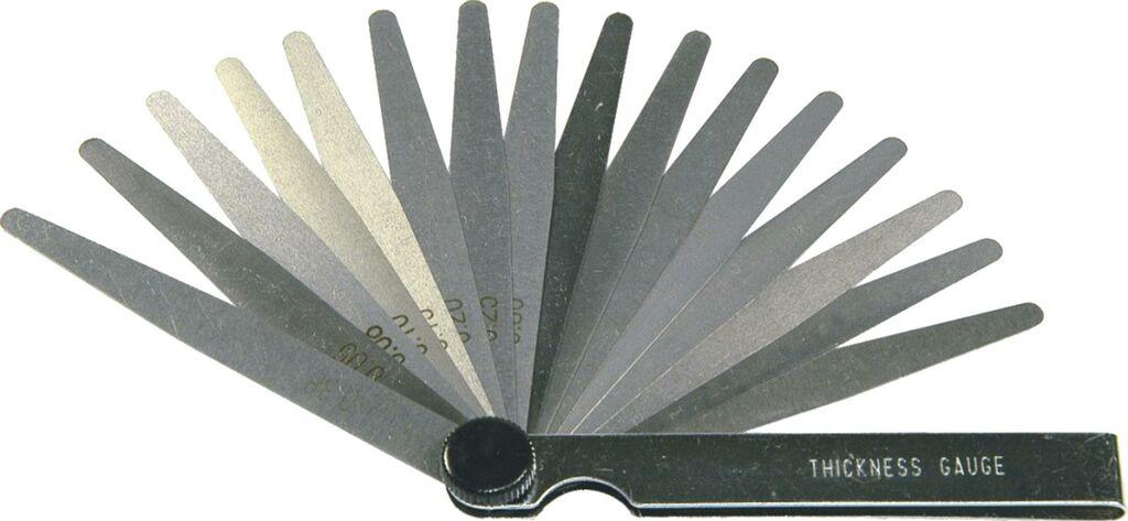 Obrázek produktu měrka na ventily (metrická/SAE), BIKESERVICE BS3105