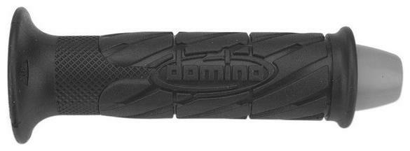 Obrázek produktu gripy (scooter) délka 120 + 135 mm, DOMINO (černé) 3208.82.40.06