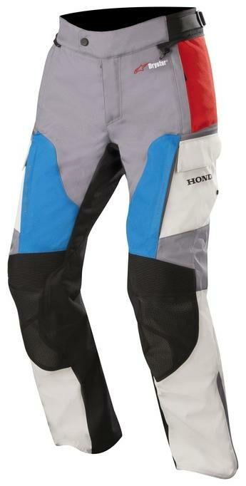 Obrázek produktu kalhoty ANDES Drystar HONDA kolekce, ALPINESTARS (šedá/červená/modrá) 3227418-977