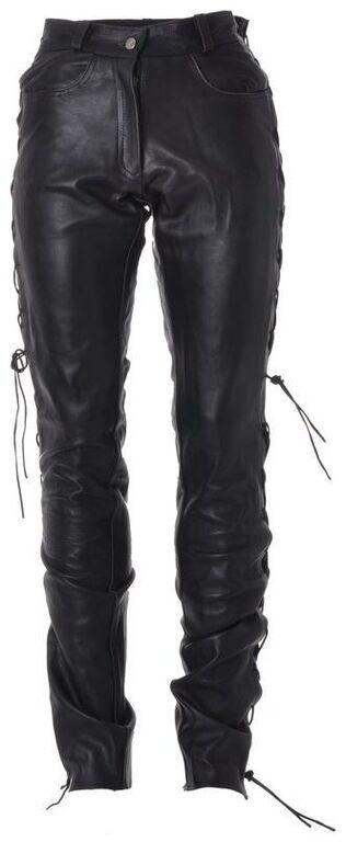 Obrázek produktu kalhoty kožené šněrovací, ROLEFF, dámské RO3D