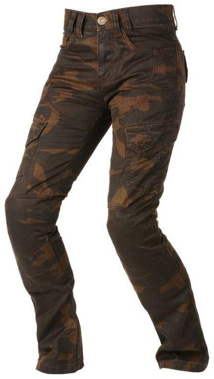 Obrázek produktu kalhoty CAMINO, AYRTON, dámské (hnědé camo/seprané)