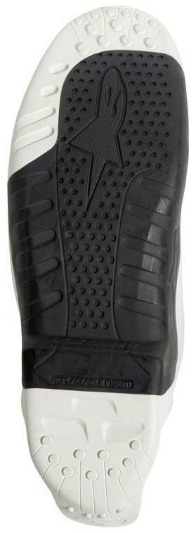 Obrázek produktu podrážky pro boty TECH 10 model 2014 až 2018, ALPINESTARS (černé/bílé, pár)