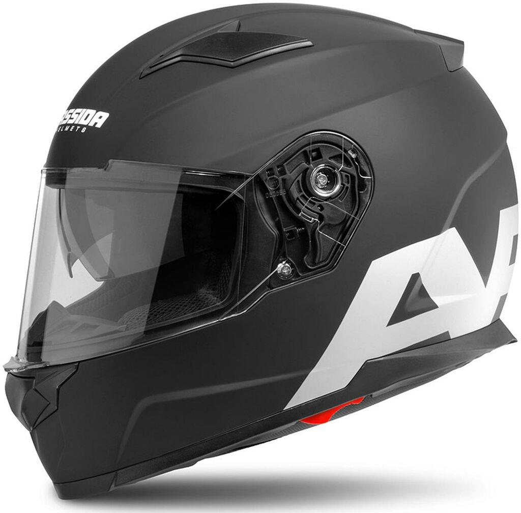 Obrázek produktu přilba Apex Vision, CASSIDA (černá matná/šedá reflexní, balení vč. pinlock folie)