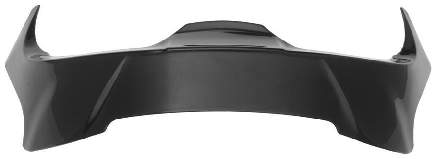 Obrázek produktu aerodynamický stabilizátor pro přilby Cyklon, CASSIDA - ČR (černá) REAR VENTS GLOSS BLACK KRE