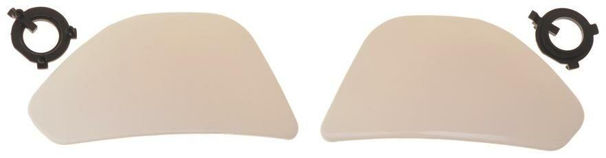 Obrázek produktu boční kryty hledí pro přilby City Seven, MT - Španělsko (bílé) MT HELMETS 100-168
