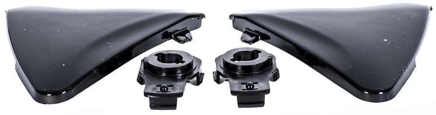 Obrázek produktu boční kryty hledí pro přilby Ventus, MT - Španělsko (černé-lesklé) MT HELMETS 100-402