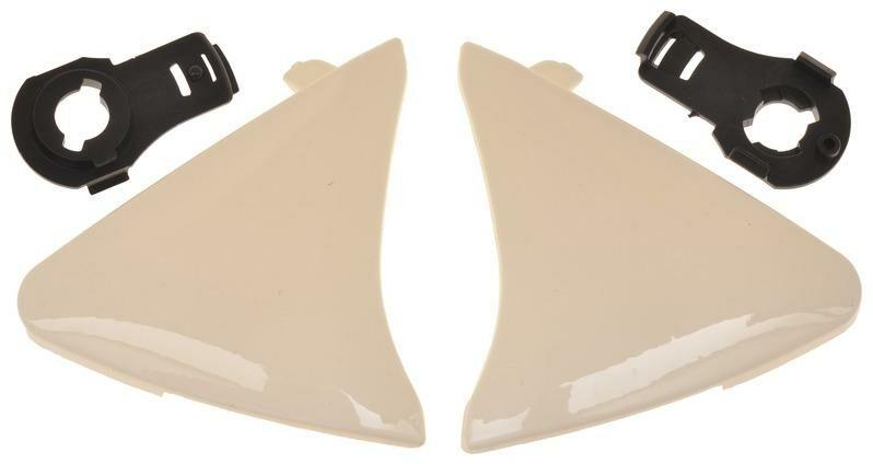 Obrázek produktu boční kryty hledí pro přilby Ventus, MT - Španělsko (bílé) MT HELMETS 100-404